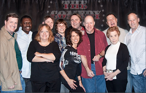 Latest Graduating class at the Comedy Store
