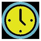 Resultado de imagen de horario icono