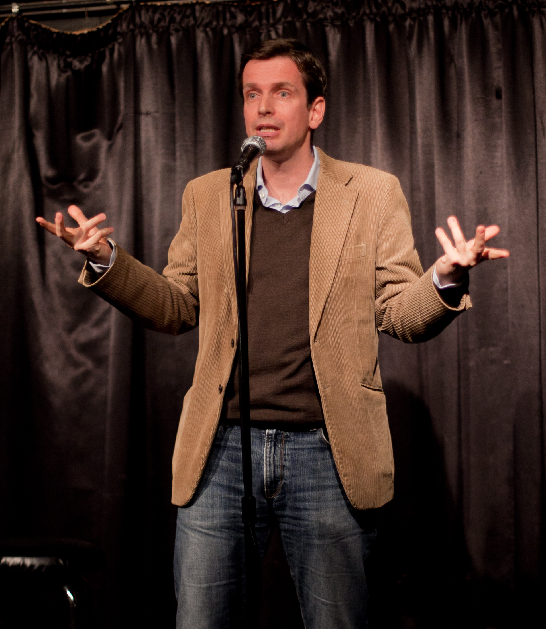 how to be a better comedian stand up comedy clinic