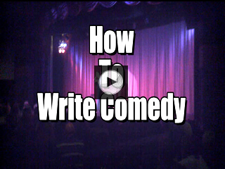 How To Be a Comedian – How To Write Comedy For Your First Time