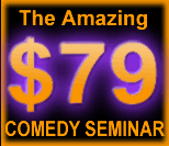 How To Write Comedy - $79 Weekend Workshop