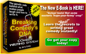 Breaking Comedy's DNA E-Book