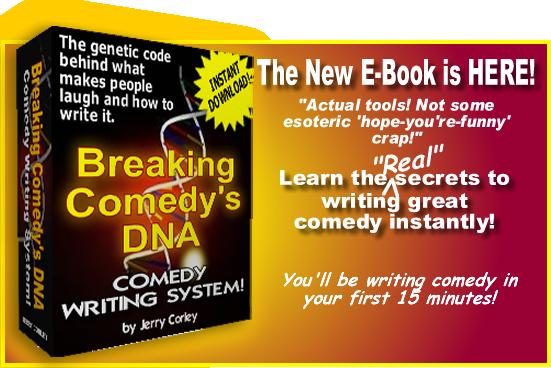 how to write comedy system e-book