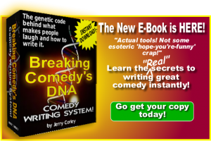 Breaking Comedy's DNA - Ad