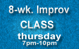 improv classes with david conolly