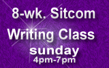 8-Week Sitcom Writing Class Sunday