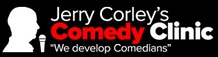 stand-up comedy clinic logo