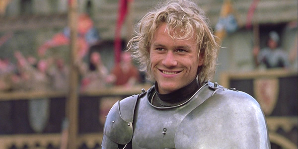 Heath Ledger in a Knights Tale