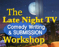 late night comedy writing & submission course online  sm logo
