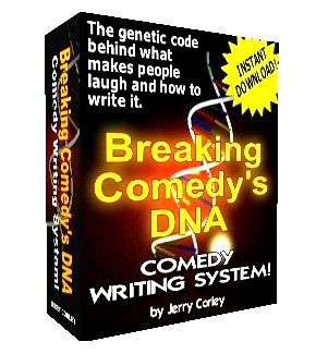 breaking comedy's dna - comedy writing system