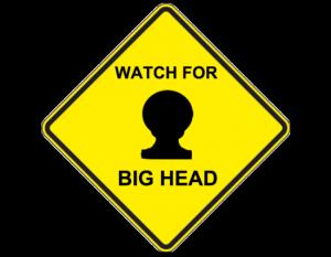 watch for big head