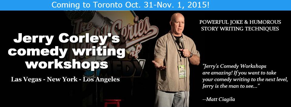 Comedy Writing Workshop – Toronto