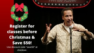 discount on comedy class