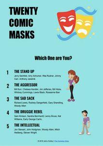 Twenty Comic Masks