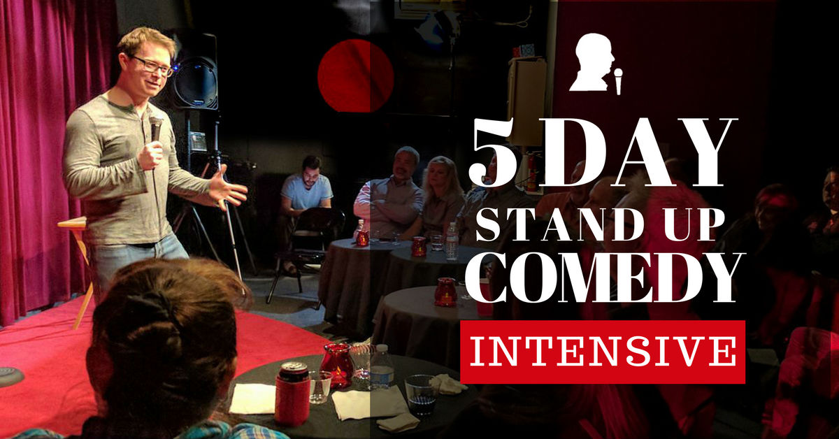 Jerry Corley's 5-Day Stand-Up Comedy Intensive Class