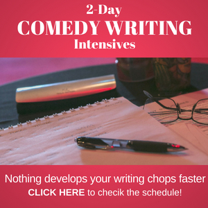 How to Write Comedy - 2-day Workshops