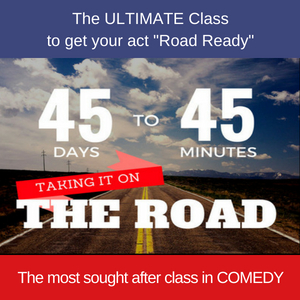 45 Days to 45 Minutes Class - Wk 3 @ Stand Up Comedy Clinic