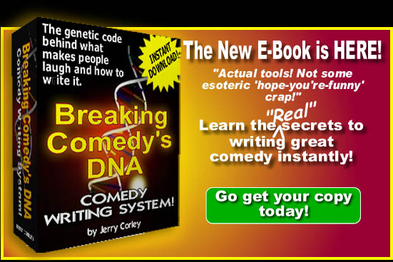 Breaking Comedy's DNA by Jerry Corley