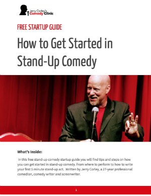 How to do Stand-up Comedy - Free Start-up Guide