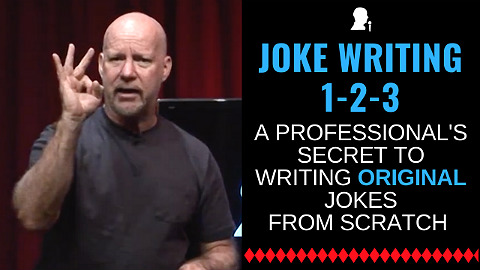 how to write jokes for stand-up comedy