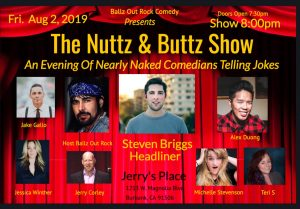 Nuttz & Buttz Show @ Stand Up Comedy Clinic
